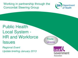 Public Health Local System - HR and Workforce Issues