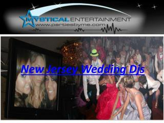 New Jersey Wedding Djs