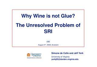 Simone de Colle and Jeff York University of Virginia yorkj05@darden.virginia