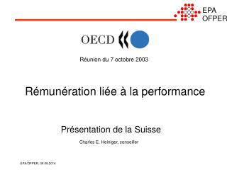Réunion du 7 octobre 2003