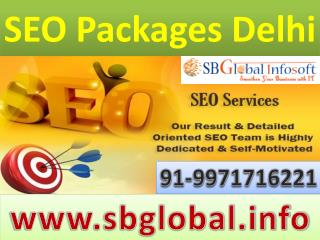 SEO Packages in Delhi-9971716221