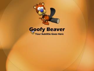 Goofy Beaver