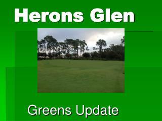Herons Glen