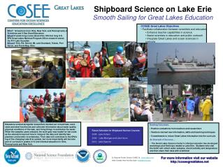 Shipboard Science on Lake Erie Smooth Sailing for Great Lakes Education