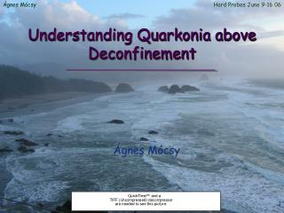Understanding Quarkonia above Deconfinement
