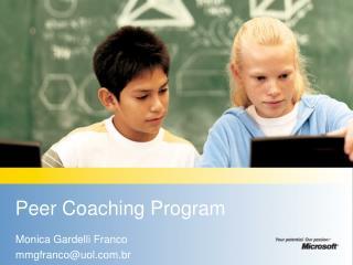 Peer Coaching Program