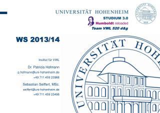 Institut für VWL