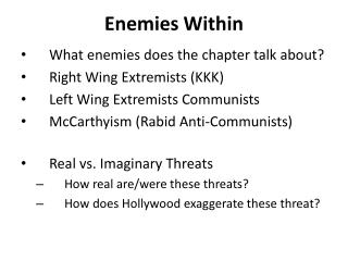 Enemies Within