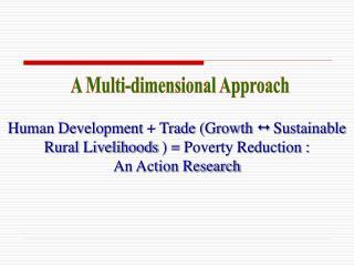 A Multi-dimensional Approach
