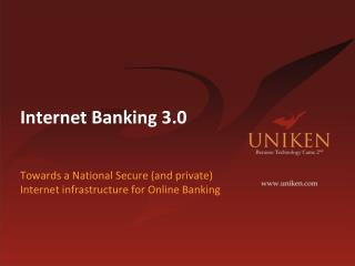 Internet Banking 3.0