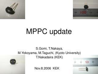 MPPC update