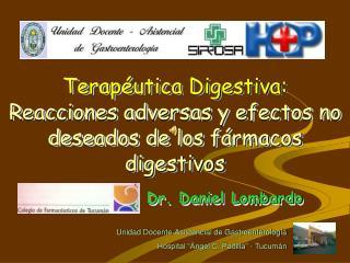 Dr. Daniel Lombardo