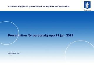 Likabehandlingsplaner: granskning och förslag till förbättringsområden
