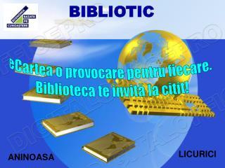 BIBLIOTIC