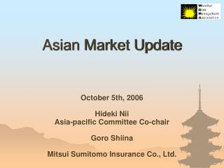 Asian Market Update
