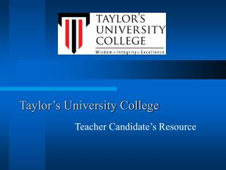 Taylor s University College