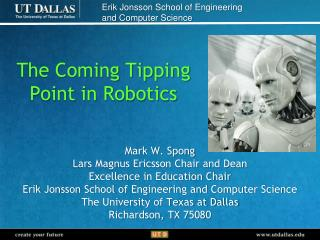 The Coming Tipping  Point in Robotics