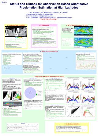 Status and Outlook for Observation-Based Quantitative Precipitation Estimation at High Latitudes