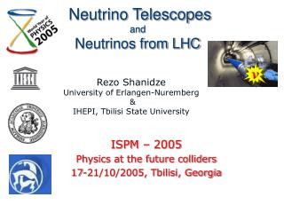 Neutrino Telescopes and Neutrinos from LHC