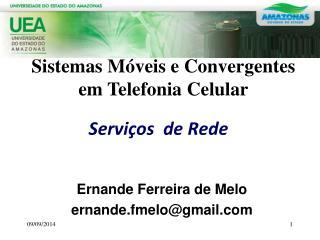 Serviços  de Rede