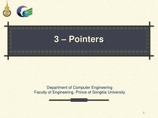 3 – Pointers