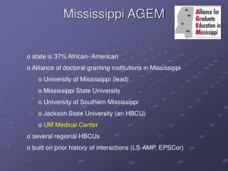 Mississippi AGEM