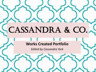 Cassandra & Co.
