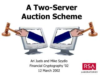 A Two-Server  Auction Scheme