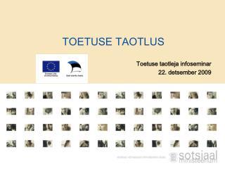 TOETUSE TAOTLUS