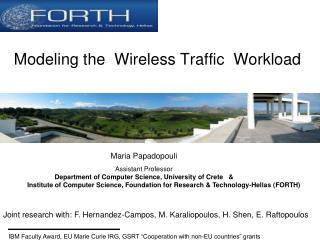 Modeling the  W ireless  Traffic  Workload