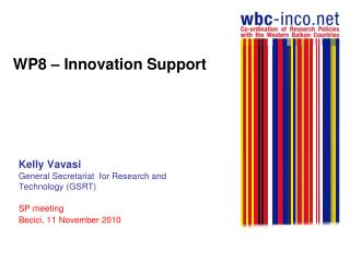WP8 – Innovation Support