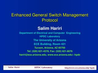 Enhanced General Switch Management Protocol