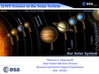 ILWS Science in the Solar System