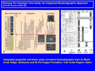 Refining The Geologic Time Scale: An Integrated Biostratigraphic Approach ACS/PRF Grant # 43907-B8
