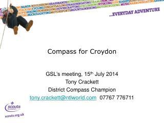 Compass for Croydon