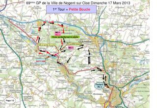 69 ème  GP de la Ville de Nogent sur Oise Dimanche 17 Mars 2013