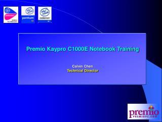 Premio Kaypro C1000E Notebook Training