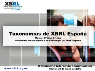 II Seminario interno de comunicación Madrid, 30 de mayo de 2005