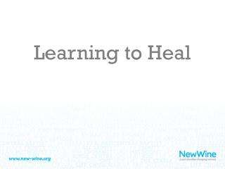 Learning to Heal