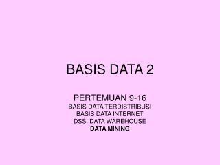BASIS DATA 2