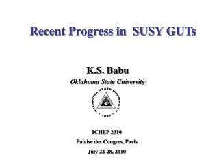 Recent Progress in  SUSY GUTs