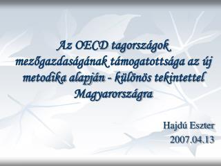 Hajdú Eszter 2007.04.13