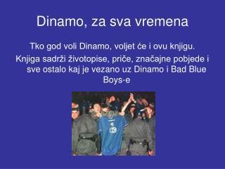 Dinamo, za sva vremena