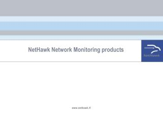 NetHawk Network Monitoring products