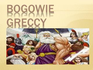 Bogowie Greccy