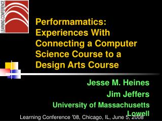 Performamatics:  Experiences With Connecting a Computer Science Course to a Design Arts Course