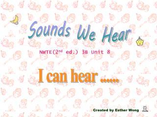 Sounds We Hear