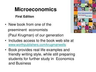 Microeconomics   First Edition