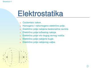 Elektrostatika