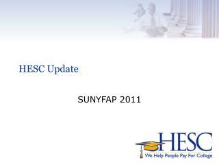 HESC Update